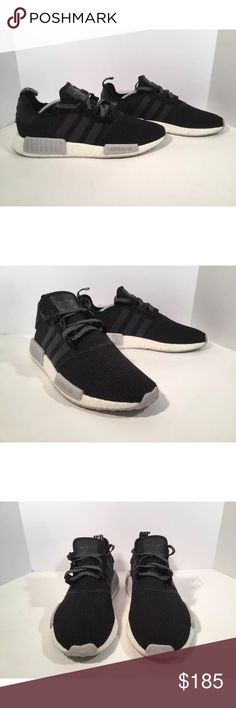 Adidas NMD R1 Item details:   -adidas brand  -in good condition  -Nmd R1  -boost and primeknit technology  -Men's Size 11   All my shoes are 100% authentic. Buyer satisfaction is very important to me and I will always do my best to make sure you have a good experience when purchasing my items. I sell many hard to find, past season, and popular shoes at discount prices. If I have the box for the shoes, I always include it in the pictures. adidas Shoes Athletic Shoes