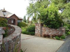 brick piers - Google Search