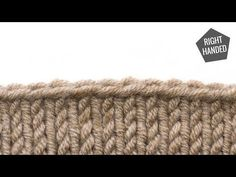 How to Bind Off Knitting the Right Way - YouTube