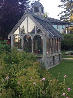 Great Tudor greenhouse #greenhouseideas #gardensheddesigns
