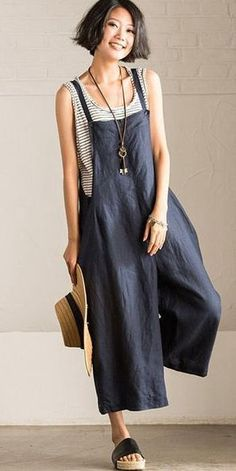 Jumpsuits For Women Are Back! Jumpsuits For Women Are Back! Ethnic Fashion, Look Fashion, Fashion Tips, Latest Fashion For Women, Womens Fashion, Overalls Women, Overalls Outfit, Trousers Women, One Piece Swimwear