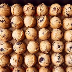 A freezer full of cookie dough drooollll.... @food52