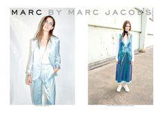 Maria Palm en la campaña SS14 de Marc by Marc Jacobs, fotografiada por Juergen Teller