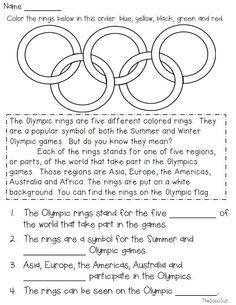 Football Centers: 4 Math and 4 ELA Centers - Winter Olympics Winter Olympics Winter Olympics Welcome to our website, We hope you are satisfied w - Winter Olympics 2014, Winter Olympic Games, Special Olympics, Rio Olympics 2016, Summer Olympics, Ancient Olympics, Olympic Idea, Summer Camp Themes, Math Literacy