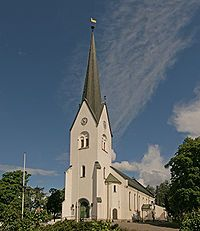 Hamar Domkirke, Hamar, Norway. The newer Cathedral in Hamar, Norway, built in 1849.