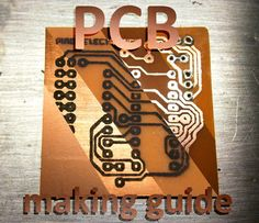 Picture of PCB making guide