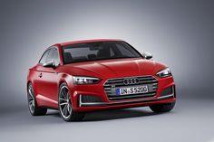 Dit is de nieuwe tweede generatie Audi A5/S5, inclusief bewegende beelden