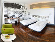 Design Doppelzimmer| V8 Hotel