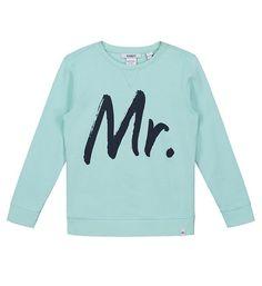 d9a5457ad7b Nik & Nik sweater George met tekst print op de voorzijde. Deze trui heeft  een