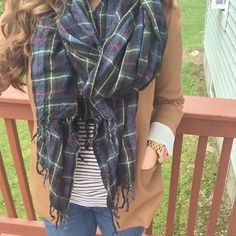 Happy Friday! It's a chilly blazer and chunky scarf kind of morning. Looks like fall weather is officially here!