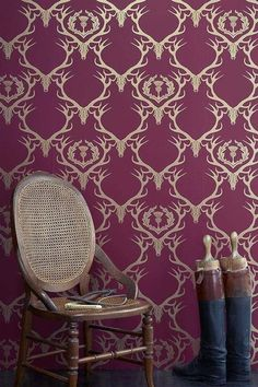 Wild About Wallpaper: 25 Cool & Pretty Patterns, Apartment Therapy.