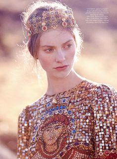 Iris Van Berne As 'Dark Star' By Tom Allen For Harper's Bazaar UK September 2013