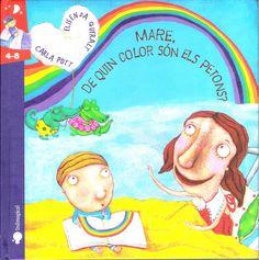 Recomanem llibres infantils i juvenils Biblioteca de Cassà de la Selva: Mare, de quin color són els petons?
