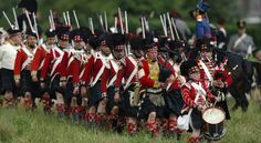 Gallery - Re-enactment of bivouacs and battles | Waterloo 1815