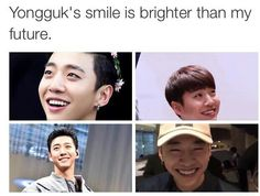 I live for Bang Yongguk's smile! | B.A.P