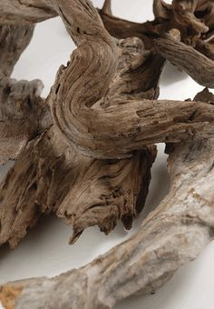 Driftwood Natural (6 pieces ) - For use in table centerpieces