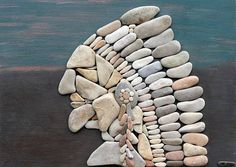 """Pebble art"". from ted motler."