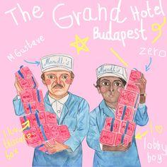 Grand Budapest Hotel fanart #grandbudapesthotel