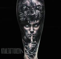 Resultado de imagen para tatuajes de panteras y motos