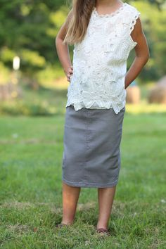 Pencil Year Girls Dresses