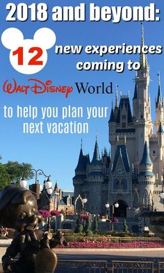 Disney World News |  Here's what's coming to the Disney parks in 2018 and beyond to help you plan your next vacation.