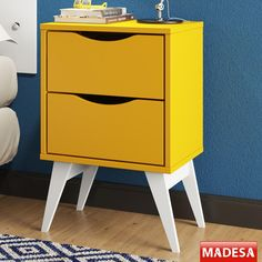 Gostou desta Gaveteiro  Tutti Colors 3207 2 Gavetas Amarelo - Madesa, confira em: https://www.panoramamoveis.com.br/gaveteiro-tutti-colors-3207-2-gavetas-amarelo-madesa-5821.html