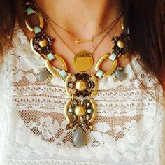 Livvy... You're so fab!  #stelladot #stelladotstyle #fall2014 #fashion #lace #necklace