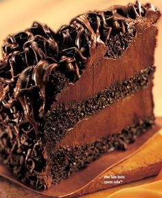 Lovin' Chocolate Spoon Cake #chocolates #sweet #yummy #delicious #food #chocolaterecipes #choco