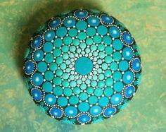 RESERVED for Lori B. (Mandala Stone)