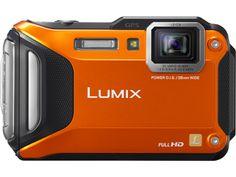 Panasonic DMC-TS5D - LUMIX DMC-TS5 Wi-Fi Enabled Lifestyle Tough Camera - Orange great for backpacking <3