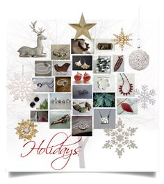 """""""For Holidays"""" by crystalglowdesign ❤ liked on Polyvore featuring art"""