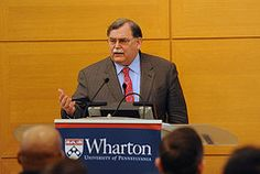 Foot Locker Chairman, President, and CEO Ken Hicks speaks at Wharton as part of the Wharton Leadership Lecture Series on February 9, 2012.
