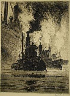 Martin Lewis Puffing Billies 1916