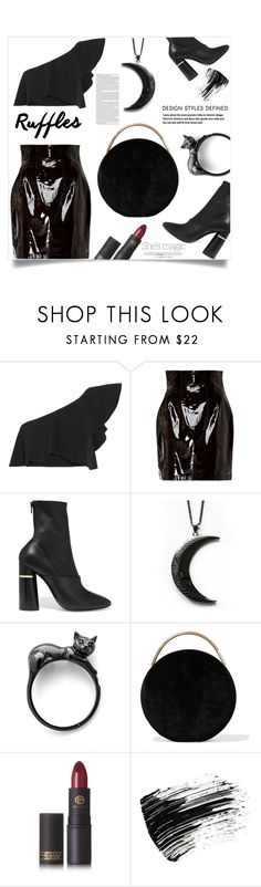 """Black Luna!"" by samra-bv ❤ liked on Polyvore featuring Nicole, Isabel Marant, Zeynep Arçay, 3.1 Phillip Lim, Eddie Borgo, Lipstick Queen, Marc Jacobs, polyvorecontest, polyvorefashion and trickeryco"