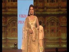 Gauhar Khan walks the ramp at CARING WITH STYLE Fashion Show.