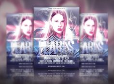 Flares - Creative Party Flyer by pmvchamara on Creative Market