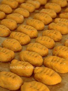 Gnocchis carottes