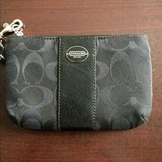 Coach wristlet purse COACH authentic black wristlet purse. Never worn!! NWT Coach Bags Clutches & Wristlets