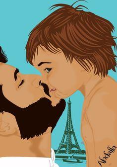 #رسم #رسمتى #رسومات #رسوماتى #رسامين #رسامين_العرب #رمزيات #رمزياتي #رمزيات_بنات #رمزيات_شباب #صور #صوره #صورة #اطفال #طفل  #art #artist #artwork #drawing #draw #drawings #kiss #father #paris #world Boy Drawing, Disney Characters, Fictional Characters, Disney Princess, Drawings, Anime, Art, Sketch, Anime Shows