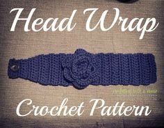 Crochet Head Wrap Pattern by CrochetingWithaCause on Etsy
