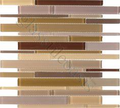 Euro Glass  Cane Blends, Random Bricks, Purple Camouflage, Glossy & Frosted, Purple, Glass