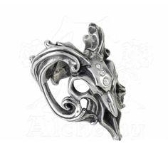 Ram skull ring by Alchemy Gothic