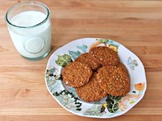 A traditional recipe for Anzac Biscuits in honor of Australia's Anzac Day, a memorial day for Australian war veterans. Kosher, Dairy, Cookies