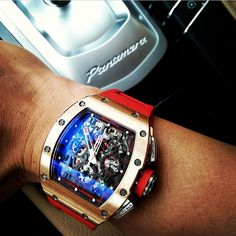 Life is a game & money is how we keep score! Richard Mille RM011 RED DEMON.