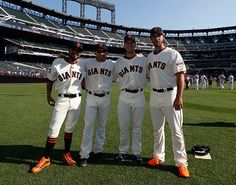 #SFGiants #ASG Nice to see the G-Men well represented!!