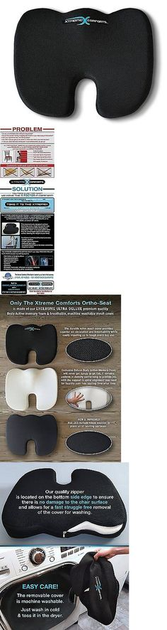 Massage Pillows and Bolsters: Seat Cushion Back Pain Truck Driver Driving Office Chair Wheelchair Airplane -> BUY IT NOW ONLY: $37.65 on eBay!