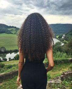 See this Instagram photo by @jimandray • long natural hair. Long curly hair.