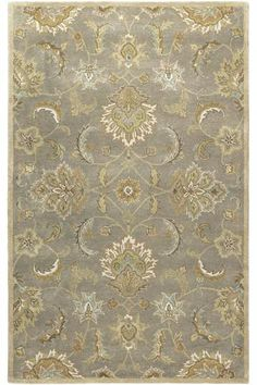 Quimby Area Rug - Wool Rugs - Traditional Rugs - Traditional Rug - Hand-tufted…