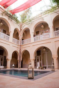 Riad AnaYela – where to stay in Marrakech – luxury riad in Marrakech www.thegoldenbun.com