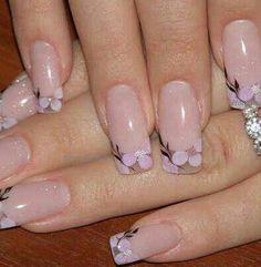 blossom nail art